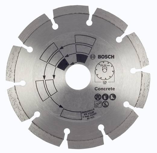 Diamanttrennscheibe Beton Bosch Accessories 2609256414 Durchmesser 125 mm Innen-Ø 22 mm 1