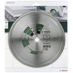 Diamantový rezací kotúč na dlaždice D = 230 mm Bosch Accessories 2609256418, Priemer 230 mm, Vnútorný Ø 22 mm, 1 ks