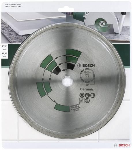 Diamanttrennscheibe Fliesen Bosch Accessories 2609256418 Durchmesser 230 mm Innen-Ø 22 mm 1