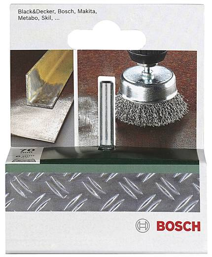 Bosch Accessories 2609256517 Topfbürste Ø 70 mm Stahldraht Schaft-Ø 6 mm 1 St.