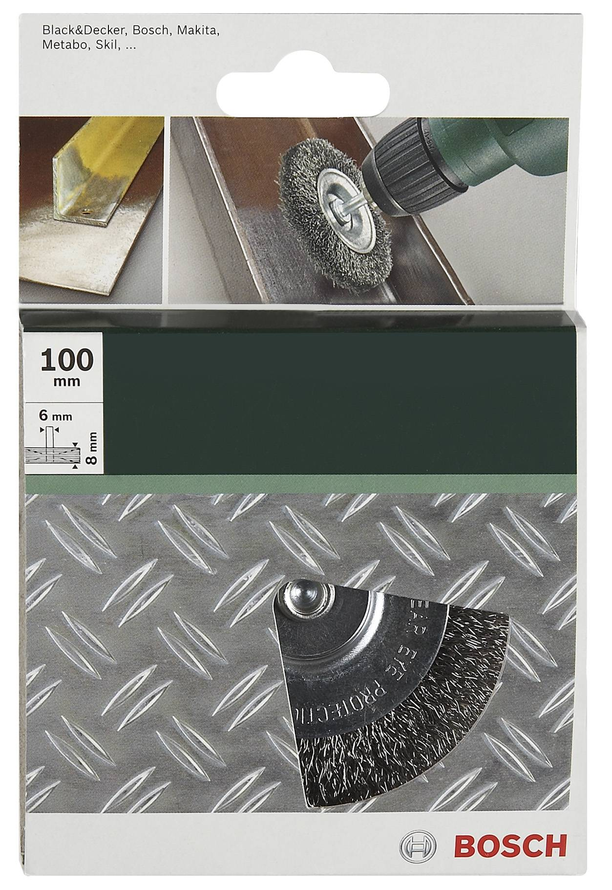 1,10€//Stk Set Stahl Draht und messing Bürste zB Dremel Proxxon 5-tlg 5 15mm