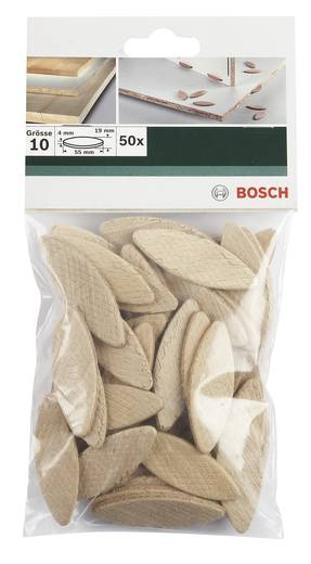 Flachdübel Bosch Accessories 55 mm 4 mm 2609256601 50 St.