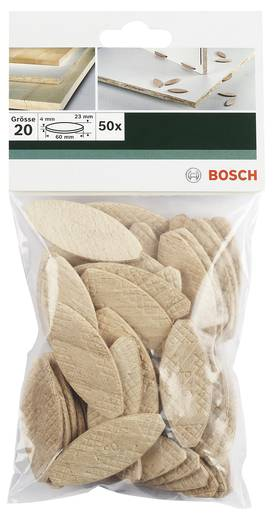 Flachdübel Bosch Accessories 60 mm 4 mm 2609256602 50 St.