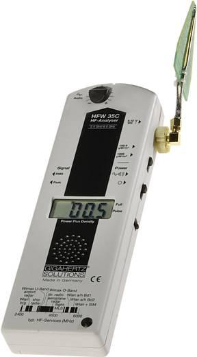 Gigahertz Solutions HFW 35C Hochfrequenz (HF)-Analysegerät, Elektrosmog-Messgerät, 2,4 bis 6 GHz u.a. WLAN, WIMAX