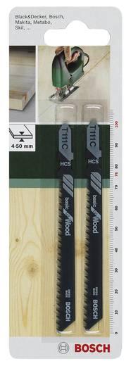 Stichsägeblatt HCS, T 111 C Bosch Accessories 2609256716 2 St.