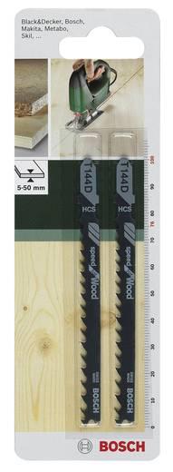 Stichsägeblatt HCS, T 144 D Bosch Accessories 2609256718 2 St.