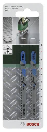 Stichsägeblatt HSS, T 118 B Bosch Accessories 2609256730 2 St.