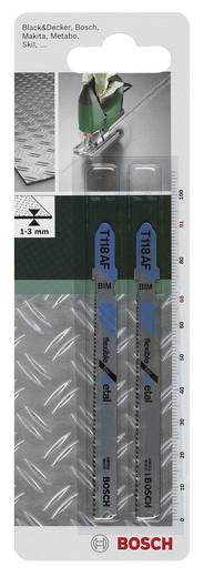 Stichsägeblatt Bimetall, T 118 AF Bosch Accessories 2609256733 2 St.