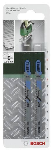 Stichsägeblatt Bimetall, T 118 BF Bosch Accessories 2609256734 2 St.