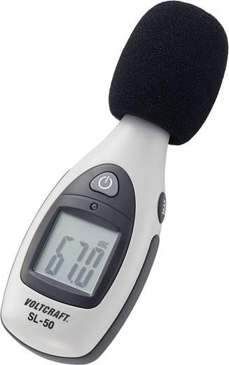 VOLTCRAFT Schallpegel-Messgerät SL-50 30 - 130 dB 30 Hz - 4 kHz Kalibriert nach Werksstandard (ohne Zertifikat)