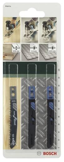 3tlg. Stichsägeblatt-Set Makita-Schaft Bosch Accessories 2609256778 3 St.