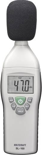 Schallpegel-Messgerät VOLTCRAFT SL-100 31.5 bis 8 kHz 30 - 130 dB Kalibriert nach Werksstandard (ohne Zertifikat)