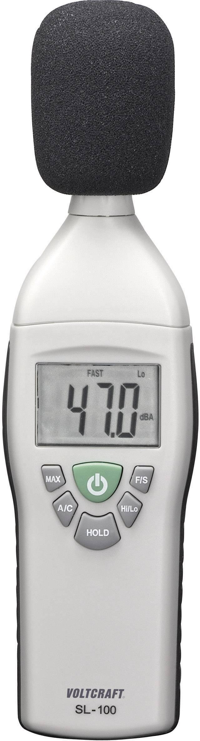 VOLTCRAFT Schallpegel-Messgerät SL-200 SE 30-130 dB 31.5Hz 8kHz