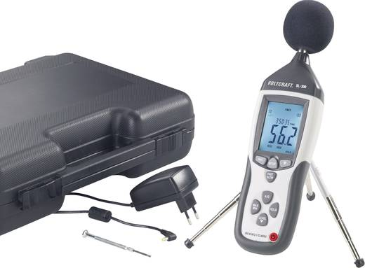 VOLTCRAFT Schallpegel-Messgerät SL-451 30 - 130 dB 31.5 - 8 kHz Kalibriert nach ISO