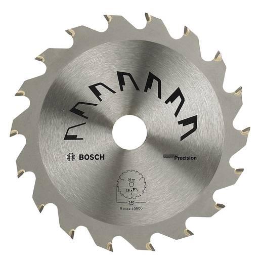 Kreissägeblatt PRECISION Bosch Accessories 2609256849 Durchmesser: 140 mm Zähneanzahl: 18 Sägeblatt