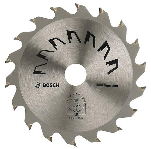 Kreissägeblatt PRECISION Bosch Accessories 2609256846 Durchmesser: 130 mm Zähneanzahl: 18 Sägeblatt