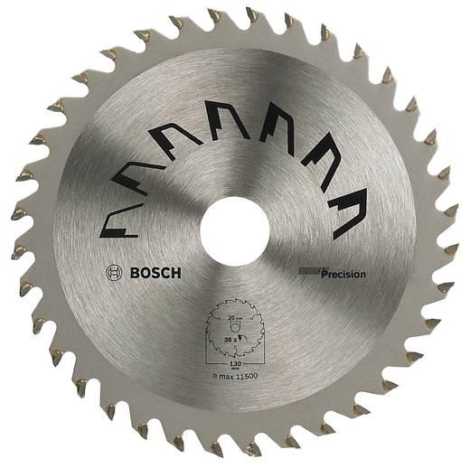 Hartmetall Kreissägeblatt 130 x 20 mm Zähneanzahl: 36 Bosch Accessories Precision 2609256847 1 St.