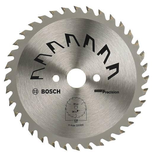 Kreissägeblatt PRECISION Bosch Accessories 2609256853 Durchmesser: 150 mm Zähneanzahl: 36 Sägeblatt