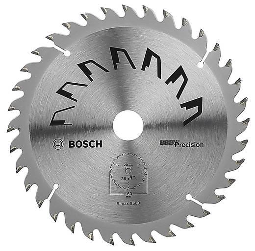 Kreissägeblatt PRECISION Bosch Accessories 2609256856 Durchmesser: 160 mm Zähneanzahl: 36 Sägeblatt