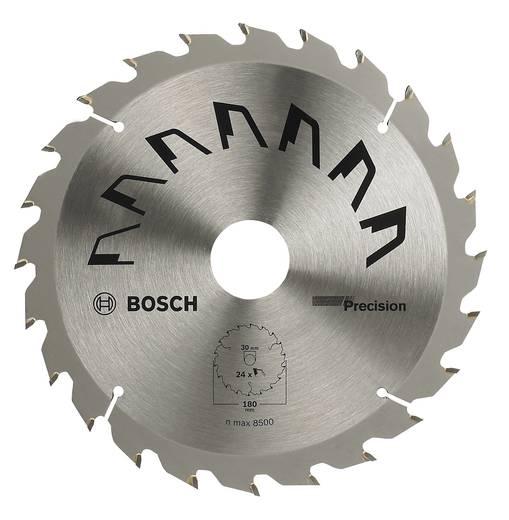 Hartmetall Kreissägeblatt 180 x 20 mm Zähneanzahl: 24 Bosch Accessories Precision 2609256860 1 St.