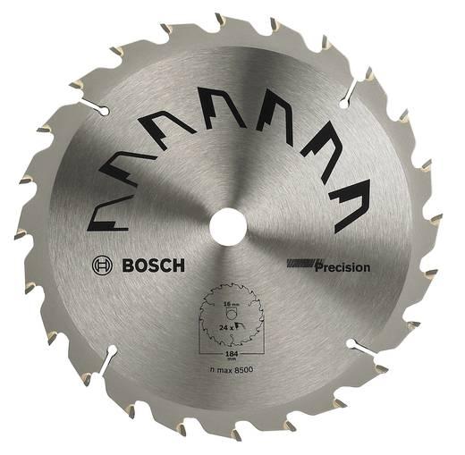 Kreissägeblatt PRECISION Bosch Accessories 2609256863 Durchmesser: 184 mm Zähneanzahl: 24 Sägeblatt