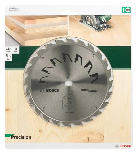 Hartmetall Kreissägeblatt 184 x 16 mm Zähneanzahl: 24 Bosch Accessories Precision 2609256863 1 St.