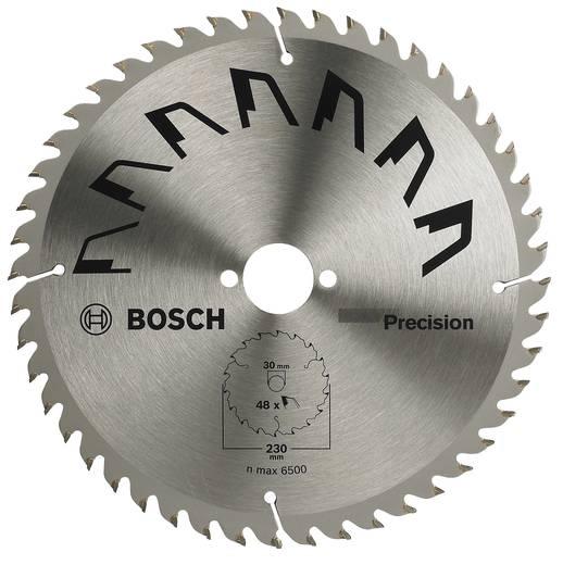 Kreissägeblatt PRECISION Bosch Accessories 2609256875 Durchmesser: 230 mm Zähneanzahl: 48 Sägeblatt