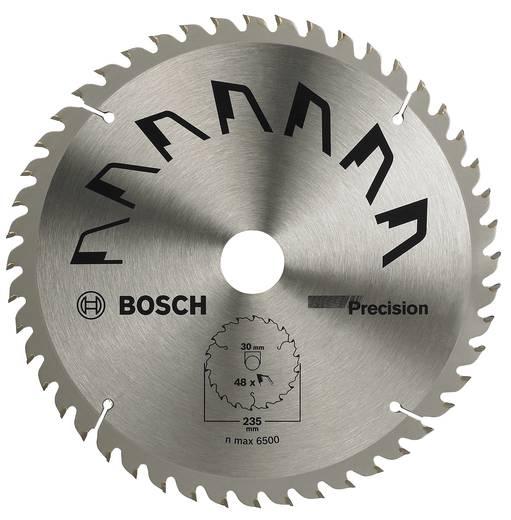 Kreissägeblatt PRECISION Bosch Accessories 2609256877 Durchmesser: 235 mm Zähneanzahl: 48 Sägeblatt