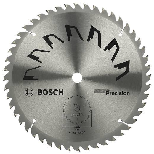 Hartmetall Kreissägeblatt 235 x 16 mm Zähneanzahl: 48 Bosch Accessories Precision 2609256881 1 St.