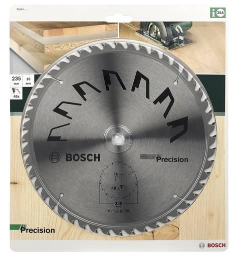 Kreissägeblatt PRECISION Bosch Accessories 2609256881 Durchmesser: 235 mm Zähneanzahl: 48 Sägeblatt