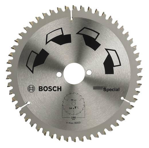 Hartmetall Kreissägeblatt 250 x 30 mm Zähneanzahl: 80 Bosch Accessories Special 2609256896 1 St.