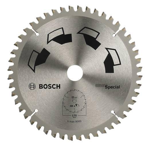 Hartmetall Kreissägeblatt 170 x 20 mm Zähneanzahl: 48 Bosch Accessories Special 2609256888 1 St.