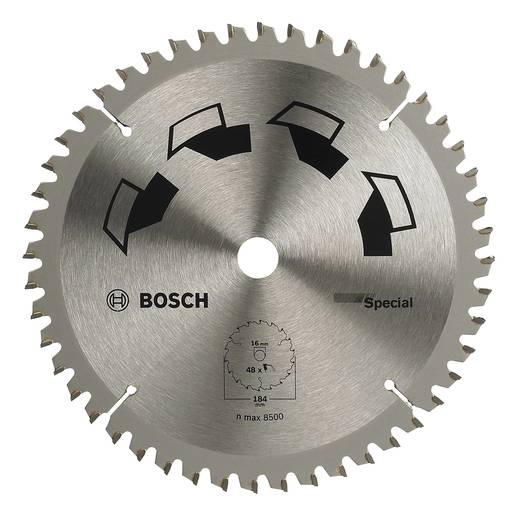 Kreissägeblatt SPECIAL Bosch Accessories 2609256890 Durchmesser: 184 mm Zähneanzahl: 48 Sägeblatt