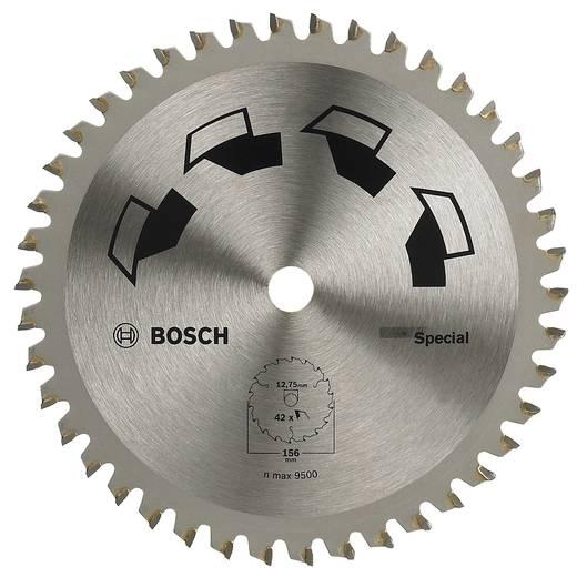Kreissägeblatt SPECIAL Bosch Accessories 2609256898 Durchmesser: 156 mm Zähneanzahl: 42 Sägeblatt