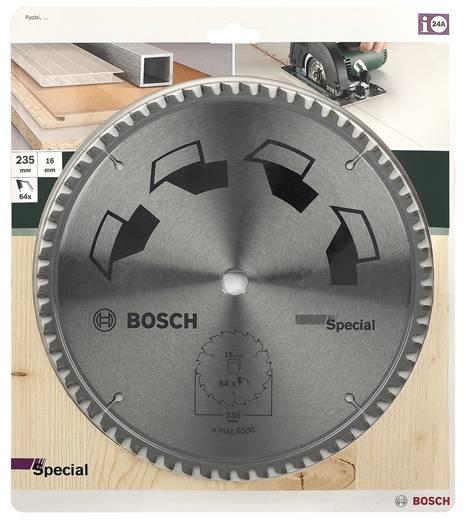 Hartmetall Kreissägeblatt 235 Zähneanzahl: 64 Bosch Accessories Special 2609256899 1 St.