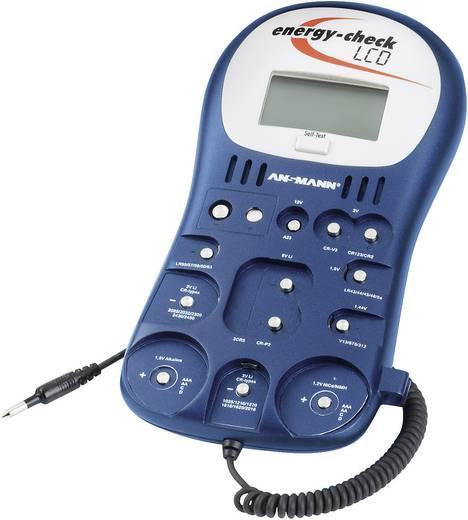 Ansmann Batterietester Energy-Check LCD Messbereich (Batterietester) 1,2 V, 1,5 V, 3 V, 9 V, 12 V Akku, Batterie 4000392