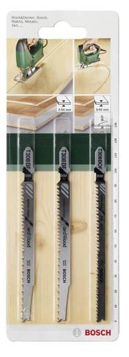 3tlg. Stichsägeblatt-Set Einnockenschaft Bosch Accessories 2609256A13 3 St.