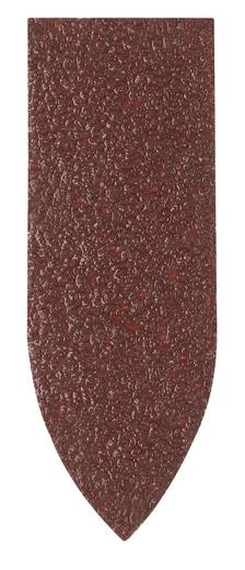 Bosch Accessories 2609256A36 Deltaschleifpapier mit Klett, ungelocht Körnung 40 Eckmaß 32 mm 5 St.