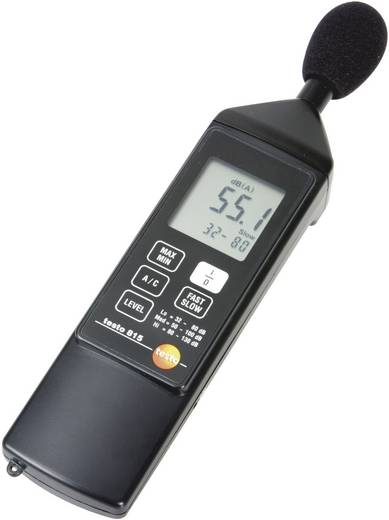 testo Schallpegel-Messgerät 815 32 - 130 dB 31.5 Hz - 8000 Hz