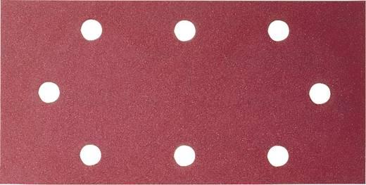 Schwingschleifpapier mit Klett, gelocht Körnung 40 (L x B) 185 mm x 93 mm Bosch Accessories 2609256A87 10 St.