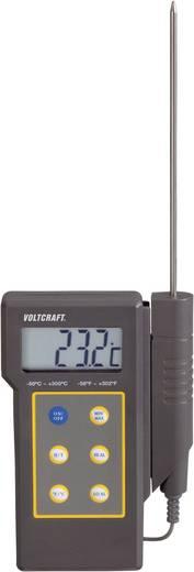 VOLTCRAFT DT-300 Temperatur-Messgerät -50 bis +300 °C Fühler-Typ K Kalibriert nach: ISO