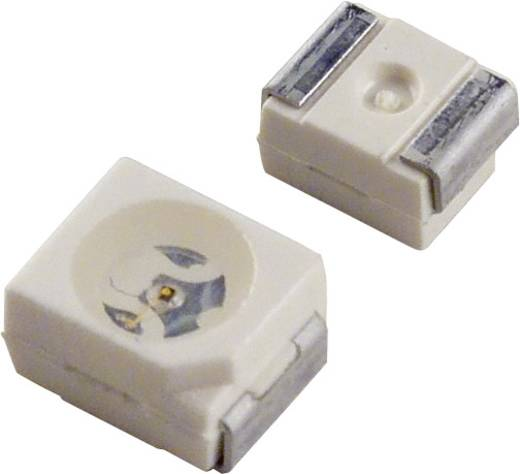 SMD-LED PLCC2 Grün 1.26 mcd 120 ° 2 mA 1.8 V OSRAM LP T67K-E1F2-25-Z