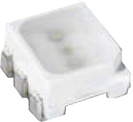 SMD-LED PLCC6 Rot, Grün, Blau 700 mcd, 1350 mcd, 160 mcd 120 ° 20 mA, 10 mA 2.05 V, 3.2 V OSRAM LTRBGFSF-ABCB-QKYO-Z