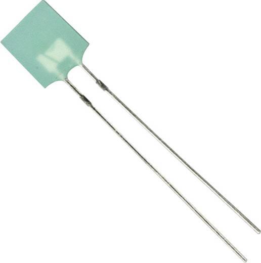 LED bedrahtet Grün Rechteckig 7.31 x 2.35 mm 2.6 mcd 100 ° 30 mA 2.2 V Broadcom HLMP-0504