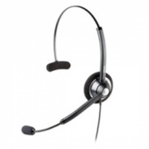 Telefon-Headset USB schnurgebunden, Mono Jabra BIZ™ 1900 USB MONO On Ear Schwarz, Silber