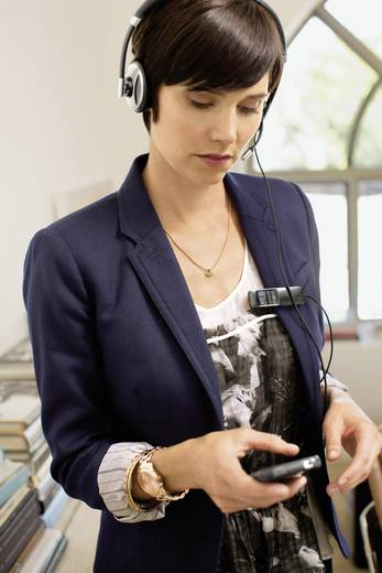 Telefon-Headset USB schnurgebunden, Stereo Plantronics Blackwire C720 On Ear Schwarz, Silber