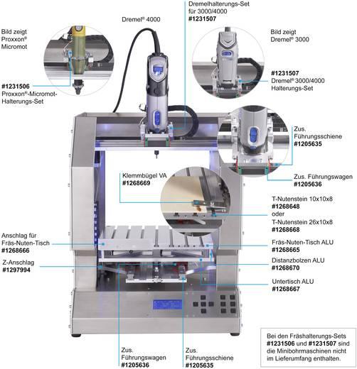 Fräshalterung RF1000 für Dremel® 3000/4000 Passend für: renkforce RF1000