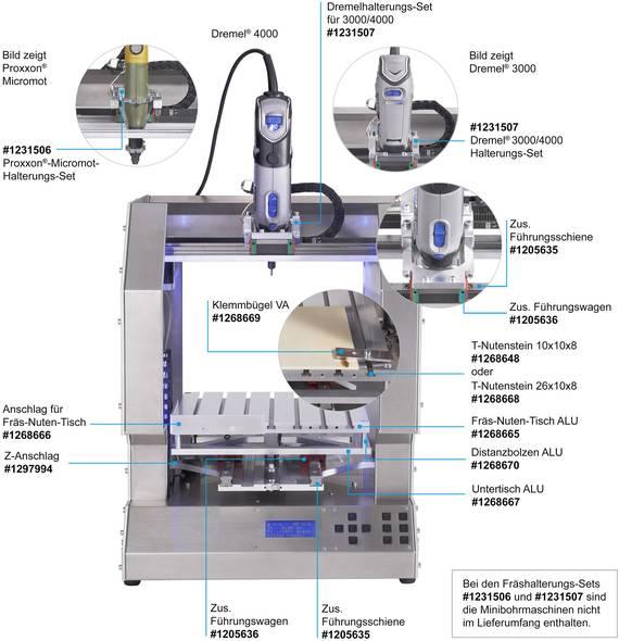 3D Drucker Erweiterung zum Fräsen