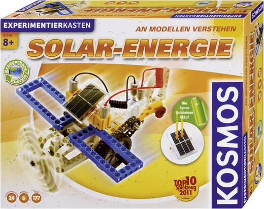 Experimentierkasten Kosmos Solar-Energie 627911 ab 8 Jahre