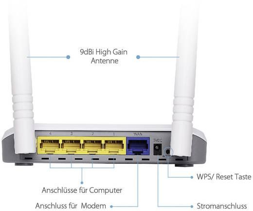 EDIMAX BR-6428nC WLAN Router 2.4 GHz 300 MBit/s